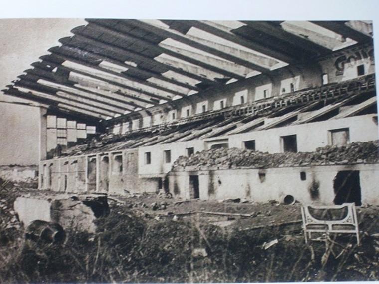 Estadio de Buenavista (Oviedo), destruido durante la Guerra Civil española